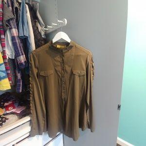 Nicole Miller vintage blouse size M in EUC